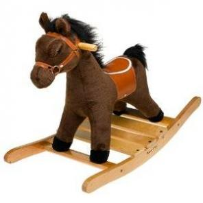 Excellent condition. Melissa & Doug Plush Rocking Horse - $35