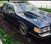 Blue 1985 Lincoln Continental Mark vii