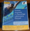 Human Anatomy and Physiology Lab Manual by Marieb - $60
